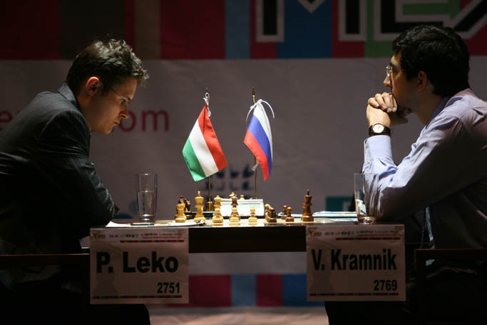 GM Kramnik vs GM Leko